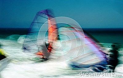 Windsurf blurred