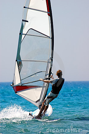 Free Windsurfer Royalty Free Stock Photo - 2682135