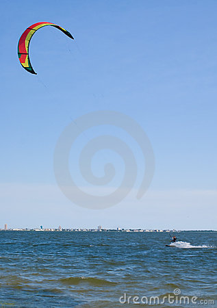 Windsurfer - Kite Boarding