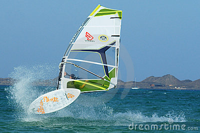Windsurfing Editorial Image
