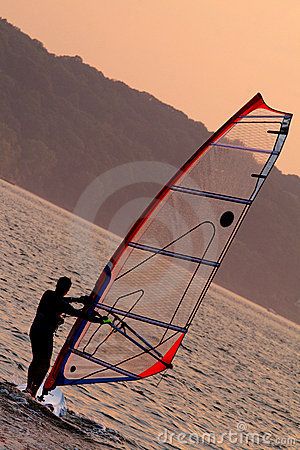 Free Windsurfing Stock Image - 2779321