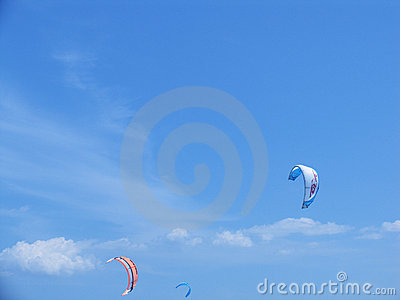 Windsurfing tramite alianti
