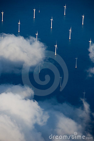 Free Windturbines Royalty Free Stock Photography - 5293477