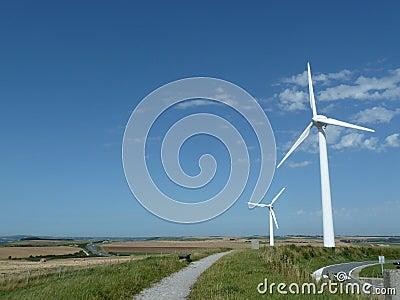 Windturbines in Fance