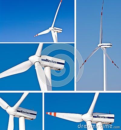 Windturbines - Vestas Editorial Photography