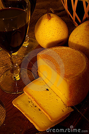 Free Wine And Cheese Stock Image - 1608081