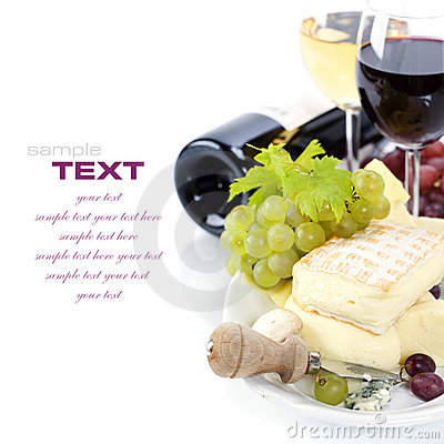 Free Wine And Cheese Stock Photo - 16224700