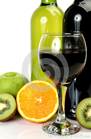 Free Wine And Fruit Stock Images - 35261404