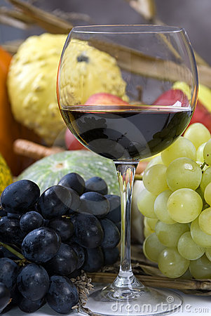 Free Wine And Grapes Stock Photo - 1981460
