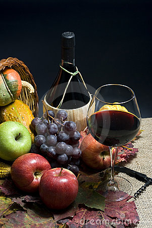 Free Wine And Grapes Stock Photography - 3511562