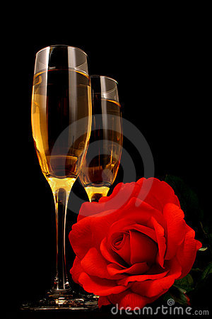 Free Wine And Romance Royalty Free Stock Image - 3996836