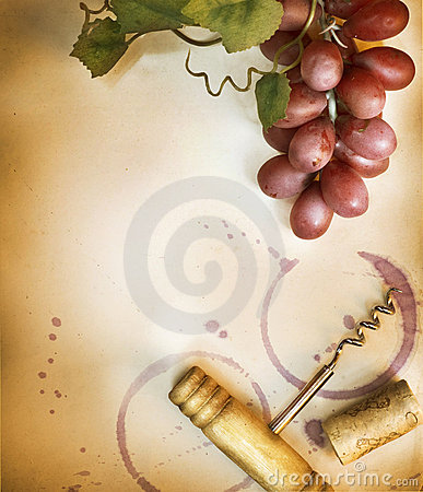 Free Wine Background Royalty Free Stock Photo - 18971895