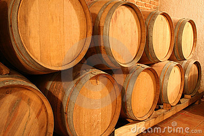 Wine Barrels Stock Photo - Image: 311610