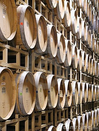 Free Wine Barrels Royalty Free Stock Photography - 65067