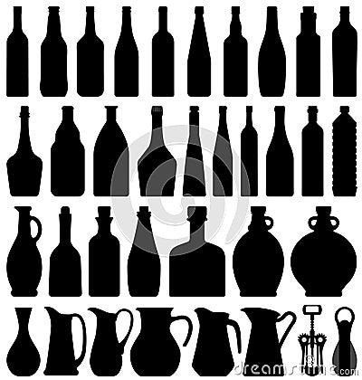 Free Wine Beer Bottle Stock Image - 16681171