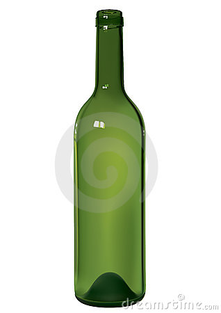 Free Wine Bottle Royalty Free Stock Photography - 10455207