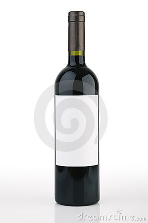 Free Wine Bottle Royalty Free Stock Photo - 2898805