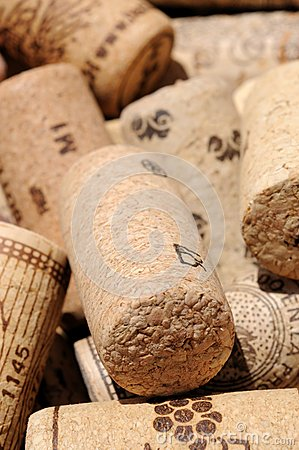 Wine bottle corks.