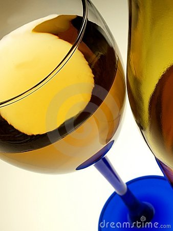 Free Wine Bottle & Glass Abstract Royalty Free Stock Images - 11896219