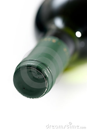 Free Wine Bottle Neck Royalty Free Stock Photography - 12769277