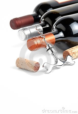 Free Wine Bottles Royalty Free Stock Photos - 26409228