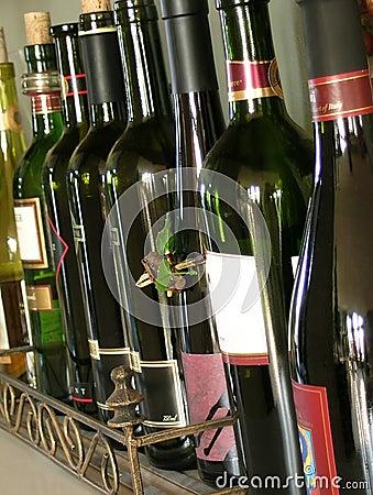 Free Wine Bottles Stock Photo - 288950
