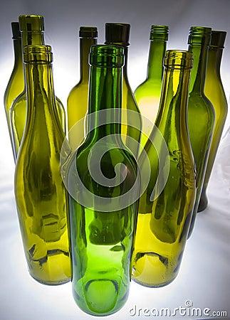 Free Wine Bottles Stock Photography - 6964722