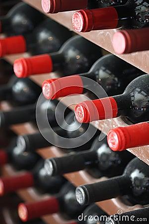 Free Wine Bottles Stock Image - 9088181