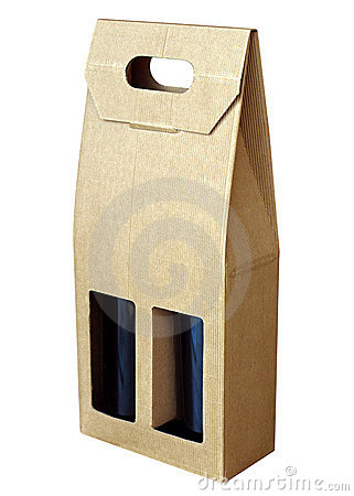 Free Wine Bottles In A Box Royalty Free Stock Images - 6816269