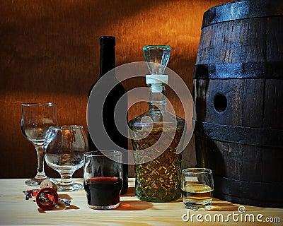 Wine and brandy