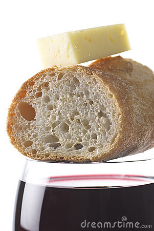 Wine Bread Cheese