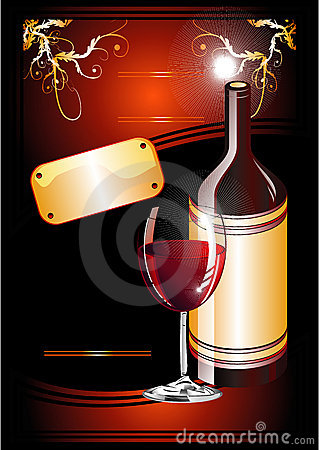 Wine Catalog Flayer background
