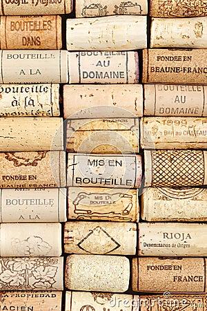Free Wine Cork Pattern Background Royalty Free Stock Photo - 33399745