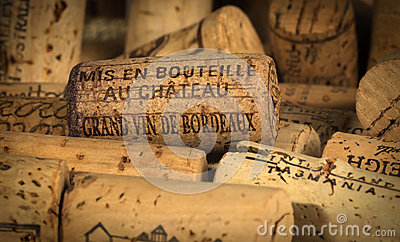 Wine Corks Bordeaux Editorial Image