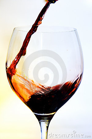 Wine cup restaurant drink