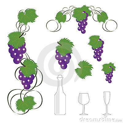 Wine design elements1