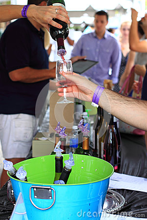 Wine Festival Party Event Editorial Stock Image