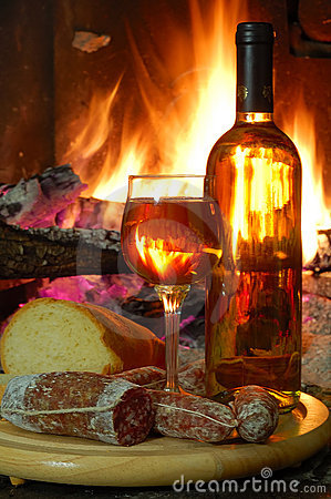 how to open a wine bottle with fire