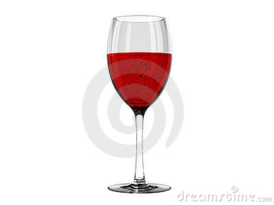 Wine in glass