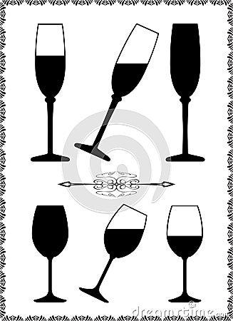 Free Wine Glass Stock Photo - 8452910