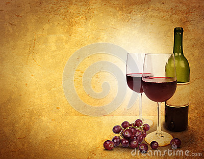 Wine Glass Celebration Background Area