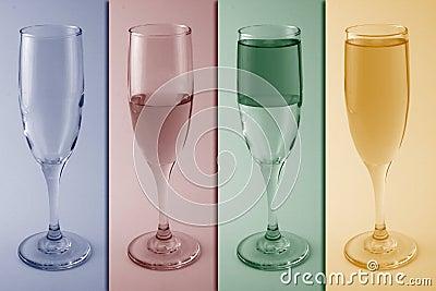 Wine glass metaphor / concept