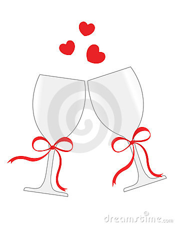 Wine Glasses Royalty Free Stock Images - Image: 16901119