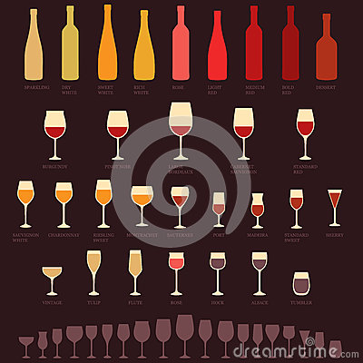 Free Wine Glasses And Bottle Royalty Free Stock Image - 49036996