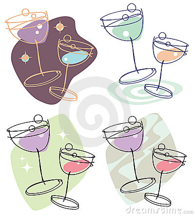 Wine Glasses at a Party