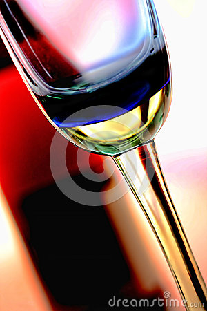 Wine Glassware Background Design