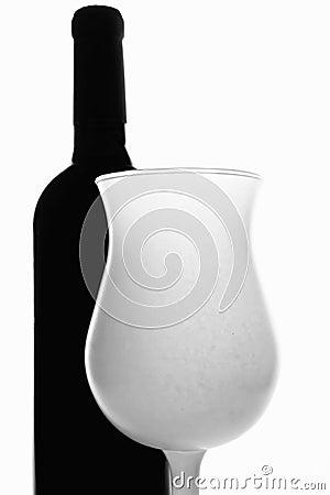 Wine Glassware Background Design