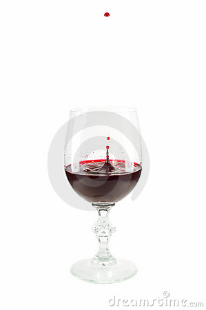 Free Wine In Glass Royalty Free Stock Photography - 957237