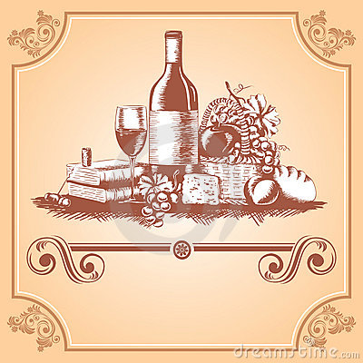 Free Wine Label Royalty Free Stock Photography - 13744027