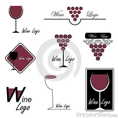 Free Wine Logos Stock Images - 16297124